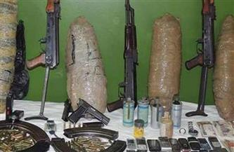 ضبط كميات من المواد المخدرة وسلاح ناري وذخائر غير مرخصة بسوهاج