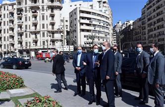 ننشر صور جولة رئيس الوزراء ونظيره الأردني بميدان التحرير