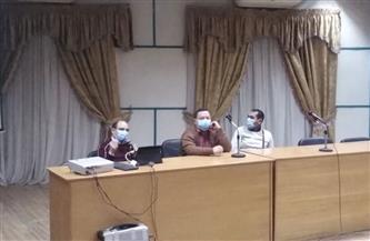 دورات تدريبية لرفع كفاءة الأطقم الطبية بمستشفيات العزل بسوهاج