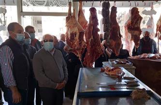 محافظ بورسعيد: بيع اللحوم البلدية الطازجة بسعر أقل من السوق |صور