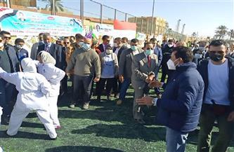 وزير الرياضة من العريش: قطاع الشباب يحظى باهتمام كبير من القيادة السياسية |صور
