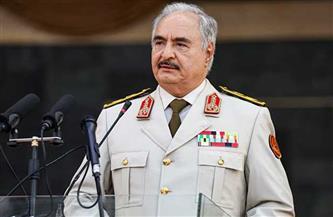 «حفتر» يؤكد دعم القوات المسلحة الليبية للسلطات الجديدة