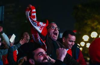 أعضاء الأهلي يحتفلون ببرونزية كأس العالم للأندية