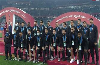 الأهلي يتسلم ميداليات المركز الثالث في مونديال الأندية