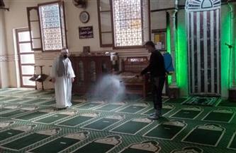 الأوقاف تواصل تعقيم المساجد في مواجهة فيروس كورونا| صور