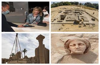الحجز الإلكتروني للمتاحف وافتتاح تماثيل الكباش وكشف سقارة.. نشاط مكثف للآثار منذ بداية العام