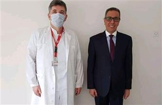 سفير مصر في البوسنة يبحث سبل تعزيز التعاون في المجال الصحي| صور