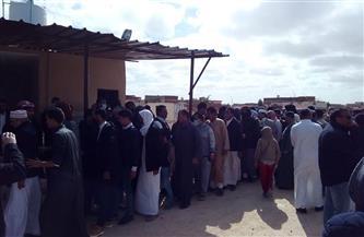 آلاف من أبناء القبائل يقدمون واجب العزاء لأسرة علي حميدة بمقابر المغاربة في مطروح| صور