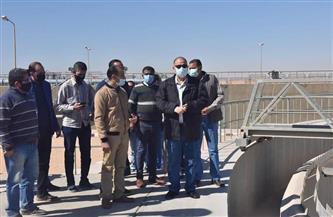 محافظ أسيوط يتفقد محطة المعالجة الثلاثية في أبنوب والفتح| صور