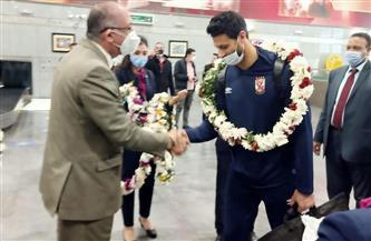 بعثة الأهلي تصل القاهرة بعد الفوز ببرونزية مونديال الأندية