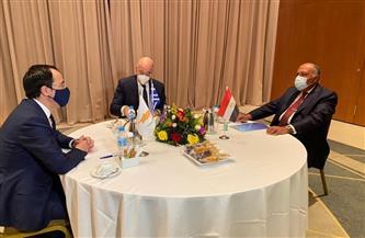 مصر وقبرص واليونان تطالب باحترام الحقوق السيادية للدول بمناطقها البحرية شرق المتوسط