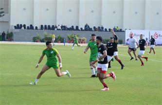 رجال مصر في الرجبي يتأهلون لنصف نهائي البطولة العربية| صور