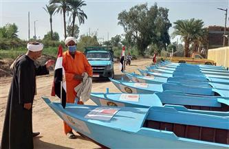 يعاملون النهر كإنسان.. صيادو الصعيد في «حياة كريمة» بعد مبادرة «صناع الخير» والمراكب الحديثة | صور