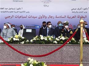 وزير الرياضة يشهد مباراة مصر والإمارات في البطولة العربية لـ«الرجبي» | صور