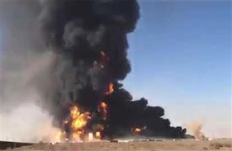 انفجار شاحنة غاز عند موقع جمركي على الحدود بين إيران وأفغانستان