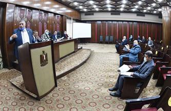 """""""القوى العاملة بالنواب"""" تناقش مشكلة عمال وزارة الزراعة والعاملين على حسابات الصناديق والمؤقتين"""