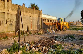 حملات موسعة لإزالة أعمال البناء المخالف بالعامرية غرب الإسكندرية