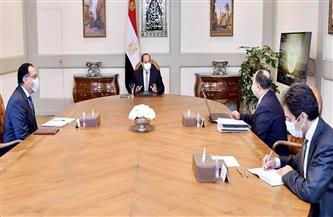 الرئيس السيسي يوجه بمتابعة ودراسة تداعيات كورونا على الموقف الاقتصادي العالمي والإقليمي