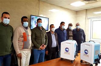 مستقبل وطن يتبرع بـ15جهاز مولد أكسجين لمواجهة كورونا بكفرالشيخ |صور