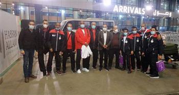 عودة بعثة مصر لألعاب القوى للإعاقات الحركية من دبي