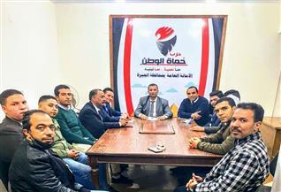 """""""حماة الوطن"""" بالجيزة: خارطة طريق لتدريب وتأهيل الشباب استعدادا للمحليات"""
