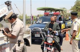 """""""مرور سوهاج"""" يحرر 307 مخالفات فى الحملة اليومية على الطرق"""