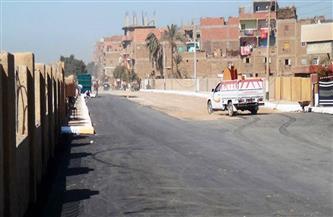 استكمال أعمال الرصف بمدينة طهطا بتكلفة 4 ملايين جنيه