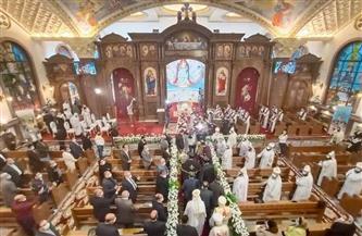 البابا تواضروس الثاني يدشن مذابح وأيقونات كنيسة السيدة العذراء بالإسكندرية|صور