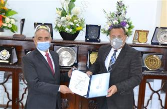 رئيس جامعة الإسكندرية يستقبل العمداء الجدد| صور