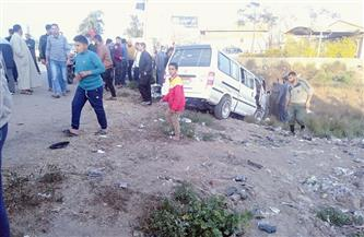 """الشرقية: إصابة 12 شخصا في حادث تصادم بطريق """"ههيا-أبوكبير"""""""