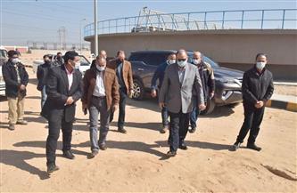 محافظ أسيوط يتفقد محطة معالجة صرف صحي المشايعة ضمن مشروع « صدفا والغنايم» |صور