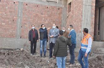 محافظ أسيوط يتفقد أعمال مشروع صرف صحي قرية المطيعة بتكلفة 76 مليون جنيه  صور