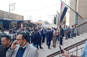 إجراء انتخابات نقابة المحامين على مقاعد غرب طنطا | صور