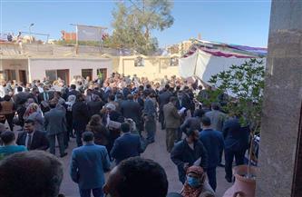 إقبال كبير على لجان انتخابات المحامين بالبحر الأحمر   صور