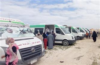 جامعة عين شمس تنظم قافلة بقرية أبو دياب شرق بدشنا