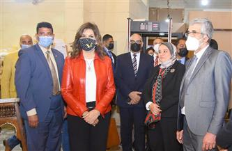 وزيرة الهجرة: مشروع إحياء الحرف التراثية نجح في جذب مستثمرينا بالخارج | صور