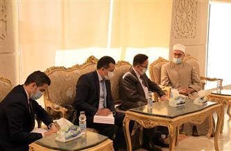 """أمين """"البحوث الإسلامية"""" يبحث مع سفير كازاخستان الاستفادة من خبرات علماء الأزهر"""