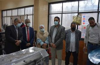 رئيس جامعة بورسعيد يفتتح المخبز الآلي بمدينة العبد الجامعية | صور