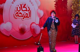 لبلبة تهدي أغنية لعرائس دكان الفرحة خلال احتفالية «تحيا مصر» | صور