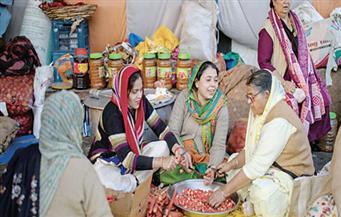 جولة داخل معسكر احتجاج مزارعى الهند