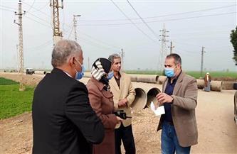 نائب-محافظ-أسيوط-يتفقد-أعمال-مبادرة-حياة-كريمة-بديروط-والقوصية|-صور---