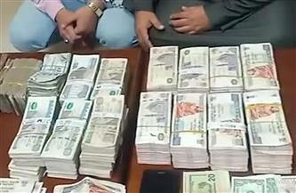 ضبط شخص للاتجار بالنقد الأجنبي والتحويلات المالية غير المشروعة بالمنيا