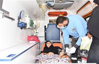 """الصحة: نقل السيدة """"عواطف"""" إلى «الشيخ زايد التخصصي» لتلقي العلاج على نفقة الدولة"""
