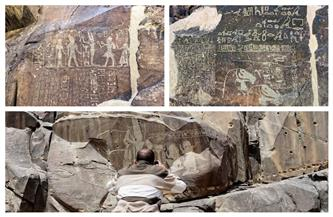 قصة نقوش وادي الحمامات.. أقدم طريق في العالم على خريطة الذهب   صور