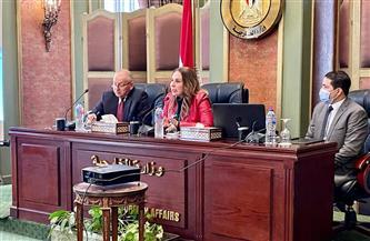 وزارة الخارجية تستقبل نائب وزير الاتصالات وتكنولوجيا المعلومات للتطوير المؤسسي