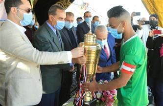 محافظ كفر الشيخ يسلم الميداليات للمراكز الثلاثة الأولى بدوري مراكز الشباب