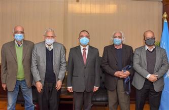 محمد الشريف عن أزمة «أتيلية الإسكندرية»: «نسعى لوضع حلول قانونية» |صور