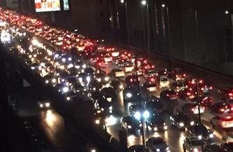 كثافات مرورية في القاهرة والجيزة/  صور