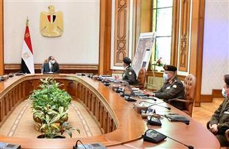 """الرئيس السيسي يوجه باستمرار جهود تطوير الكيلو """"4.5"""" مع إطلاق اسم """"مدينة الأمل"""" على المنطقة"""