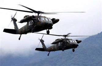 مروحيات أمريكية تحلق فوق مطار أربيل بحثا عن مصدر إطلاق الصواريخ